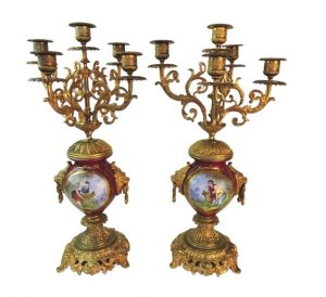 French candelabras